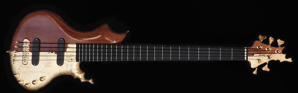 Torun Instruments Paff 24Karat gold red mahogany Bass