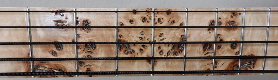 Torun instruments Lynx Transparent Burl Bass