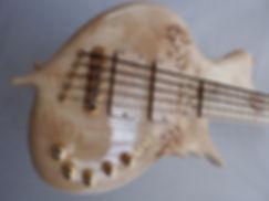 Torun instruments Lynx Transparent Burl Bass