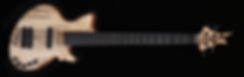 Torun Instruments Nova spalted irokko bass