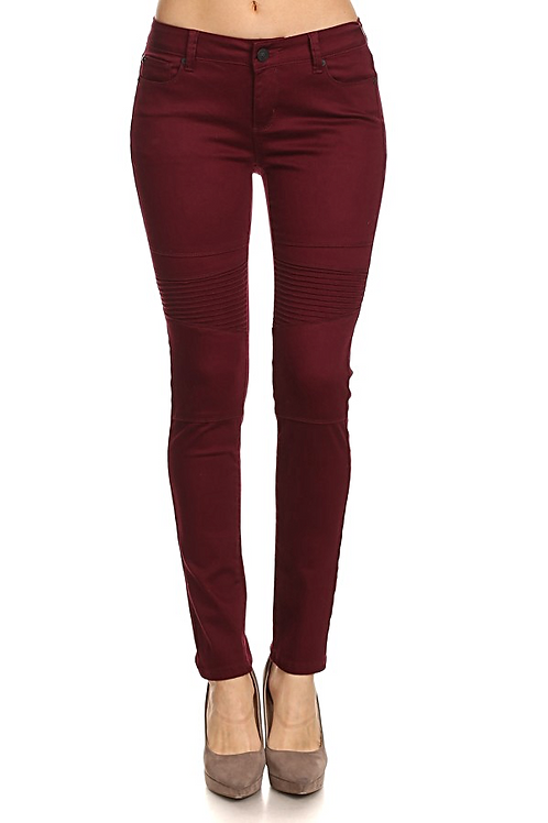 Allure Burgundy Jeans