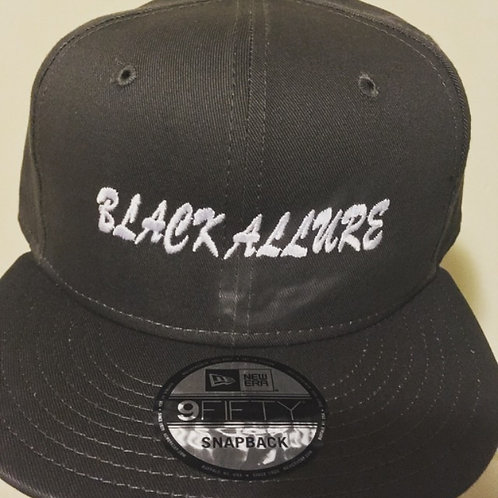 Black Allure SnapBack Grey