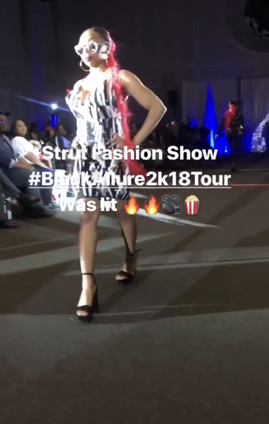 Strut #BlackAllure2k18Tour