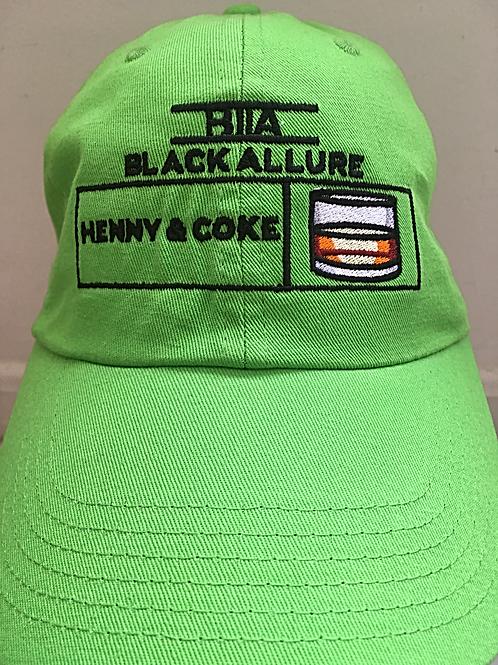 Henny & Coke Allure Neon Green