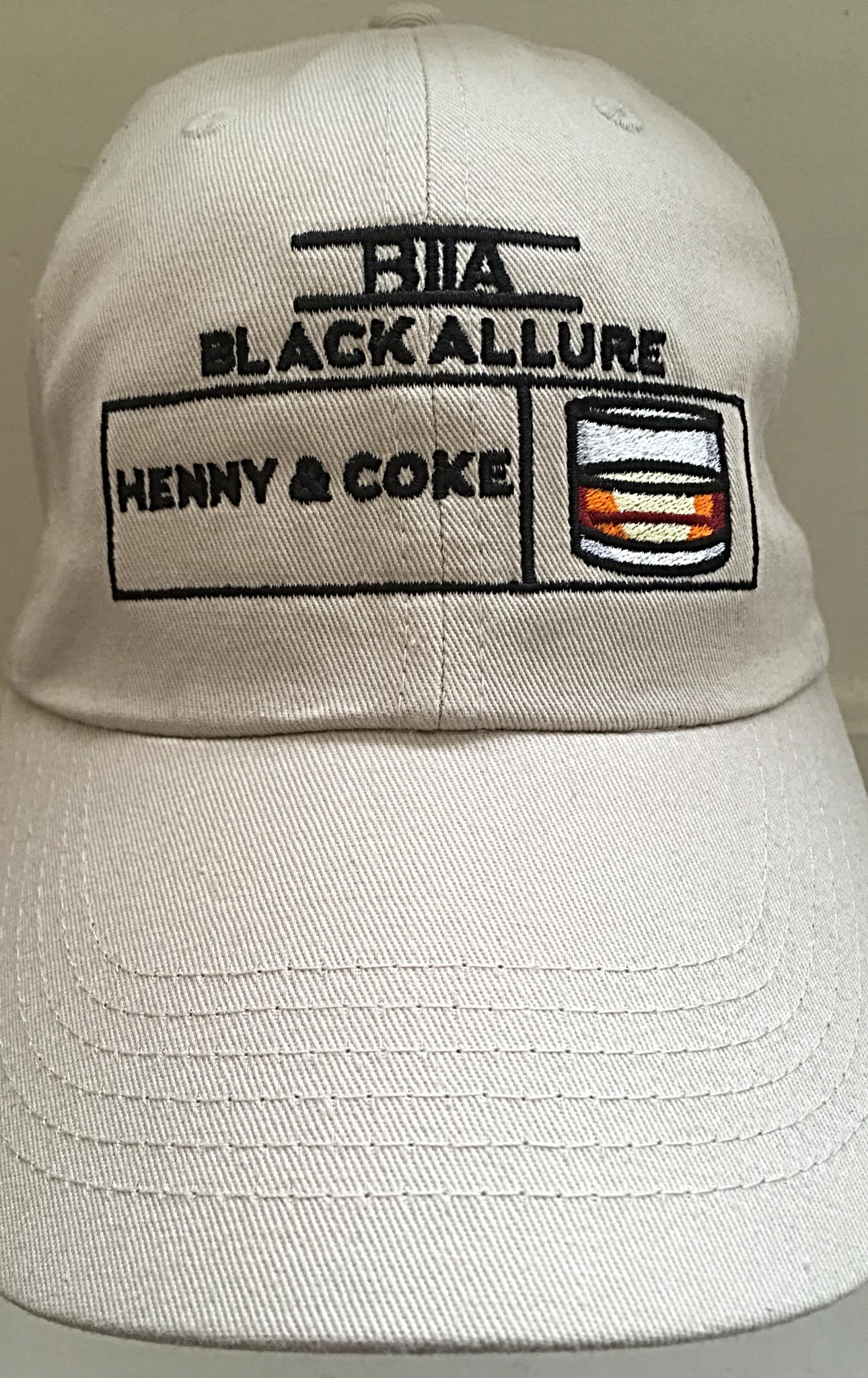Henny & Coke Allure Hat Stone | black-allure