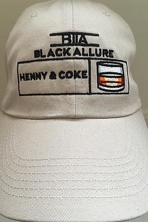 Henny & Coke Allure Hat Stone