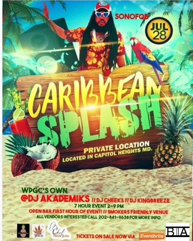 Summer Caribbean Splash ☀️ 🔥💯go get th