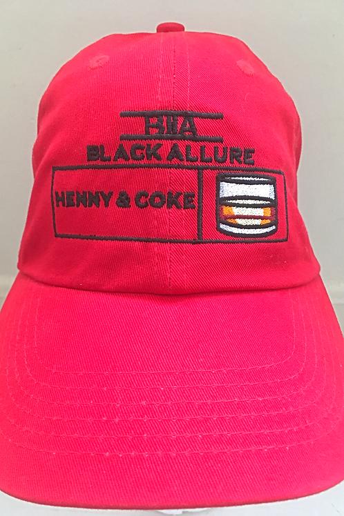 Henny & Coke Allure Hat Red