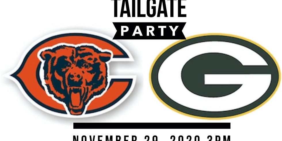 BEARS VS PACKERS TAILGATING PARTY