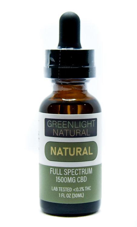 Full Spectrum CBD Oil (Choose Strength & Flavor) 30ML