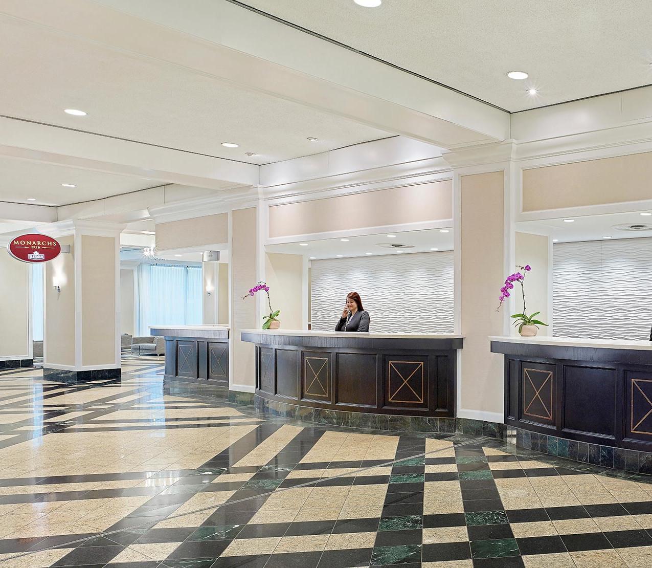 Lobby Chelsea Hotel Toronto