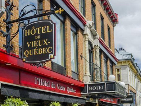 ¿Dónde hospedarse en Quebec? Hôtel du Vieux-Quebec