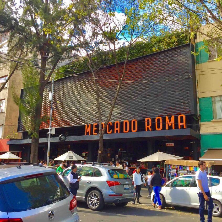 Mercado Roma - De Viaje con Armando