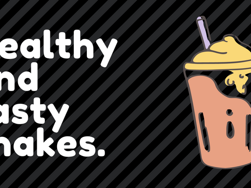 Healthy and tasty shakes.