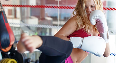cardio kickboxing class