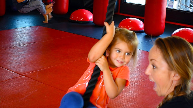 tough tots rope training