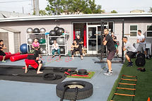circuit training group workout