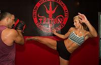 cardio kick boxing image