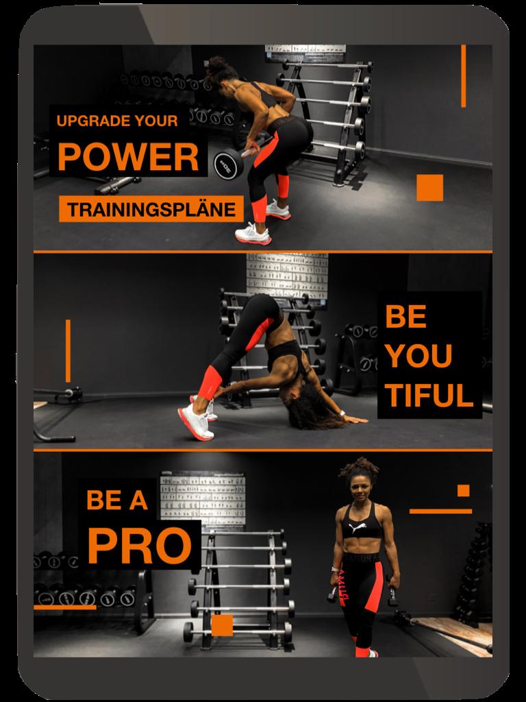 ◼︎Deine Trainingsroutine, mit Videos unterlegt