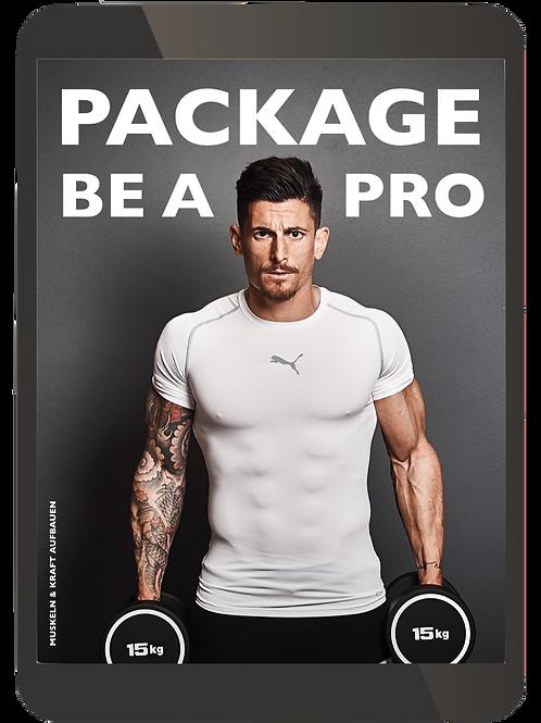 BE A PRO Men Package Muskelaufbau