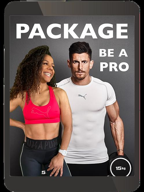 BE A PRO Package Muskelaufbau