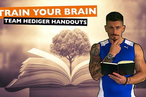 Handouts - Train your brain
