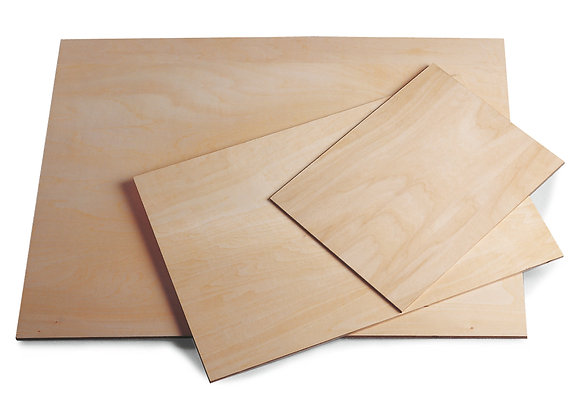 Montage op houten paneel 100x70cm