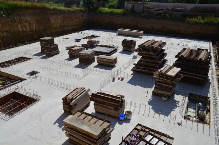 Travaux de réhabilitation du presbytère et construction de la nouvelle extension.