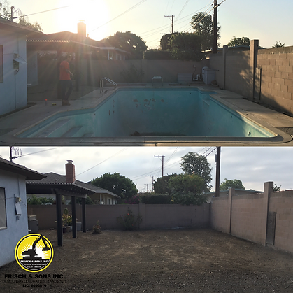 Pool Demolition Company in Orange County, Pool Demolition Contractor, Pool Backfill, Pool Demo, Pool Removal, Swimming Pool Backfill