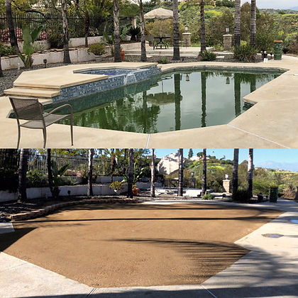 Pool Demolition Company in Orange County. Pool Demoliton, Pool Backfill & Complete Pool Removal