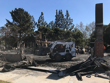 Disaster Cleanup Conracto | Company to Clean Up Burned Home