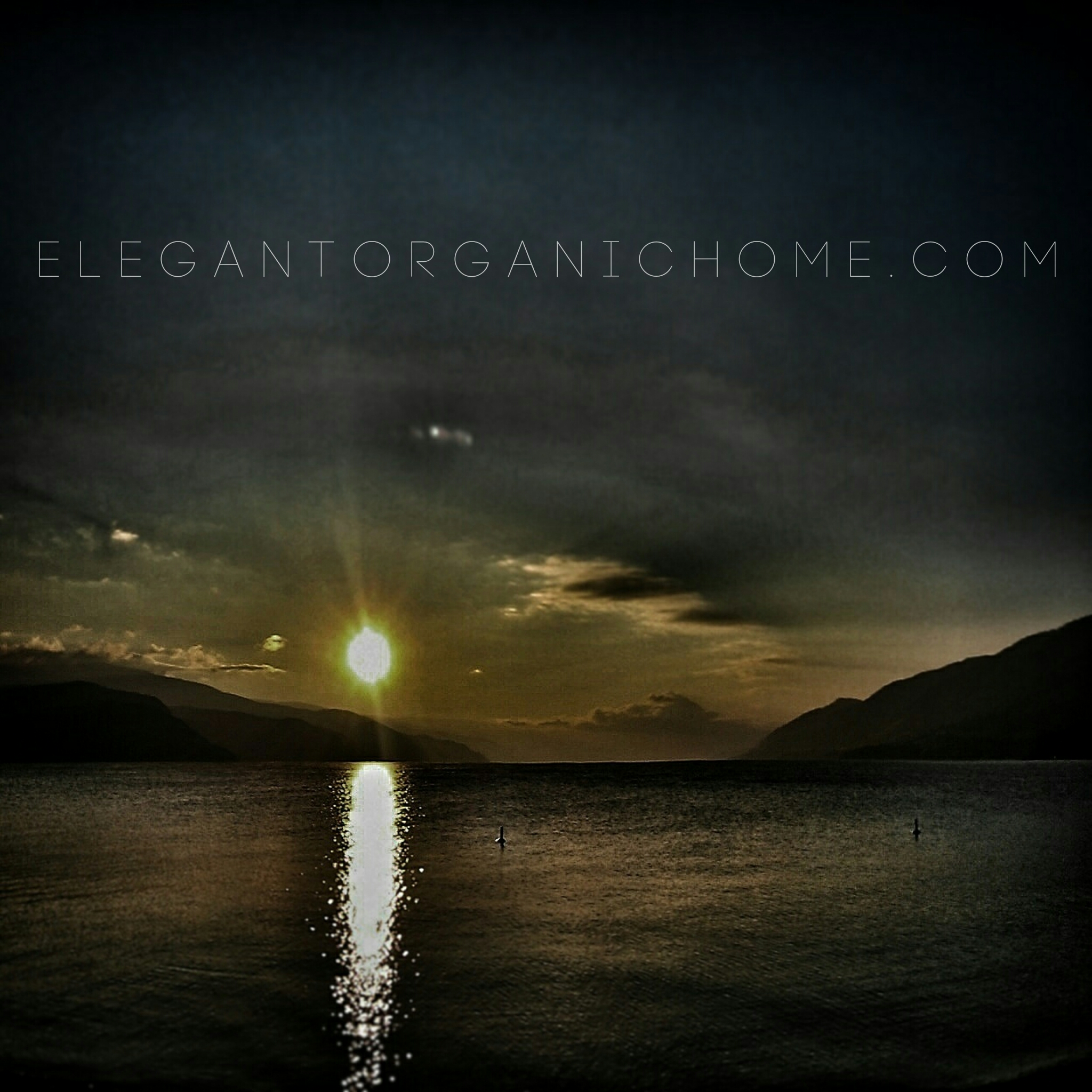 Lake Okanagan, night paddling