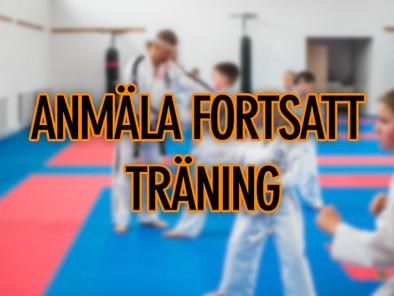 ANMÄLA FORTSATT TRÄNING HT-19