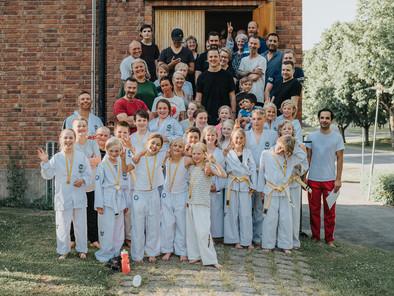 Bilder från barngruppernas avslutning VT-18