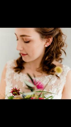 Braut-make-up Fotoshooting