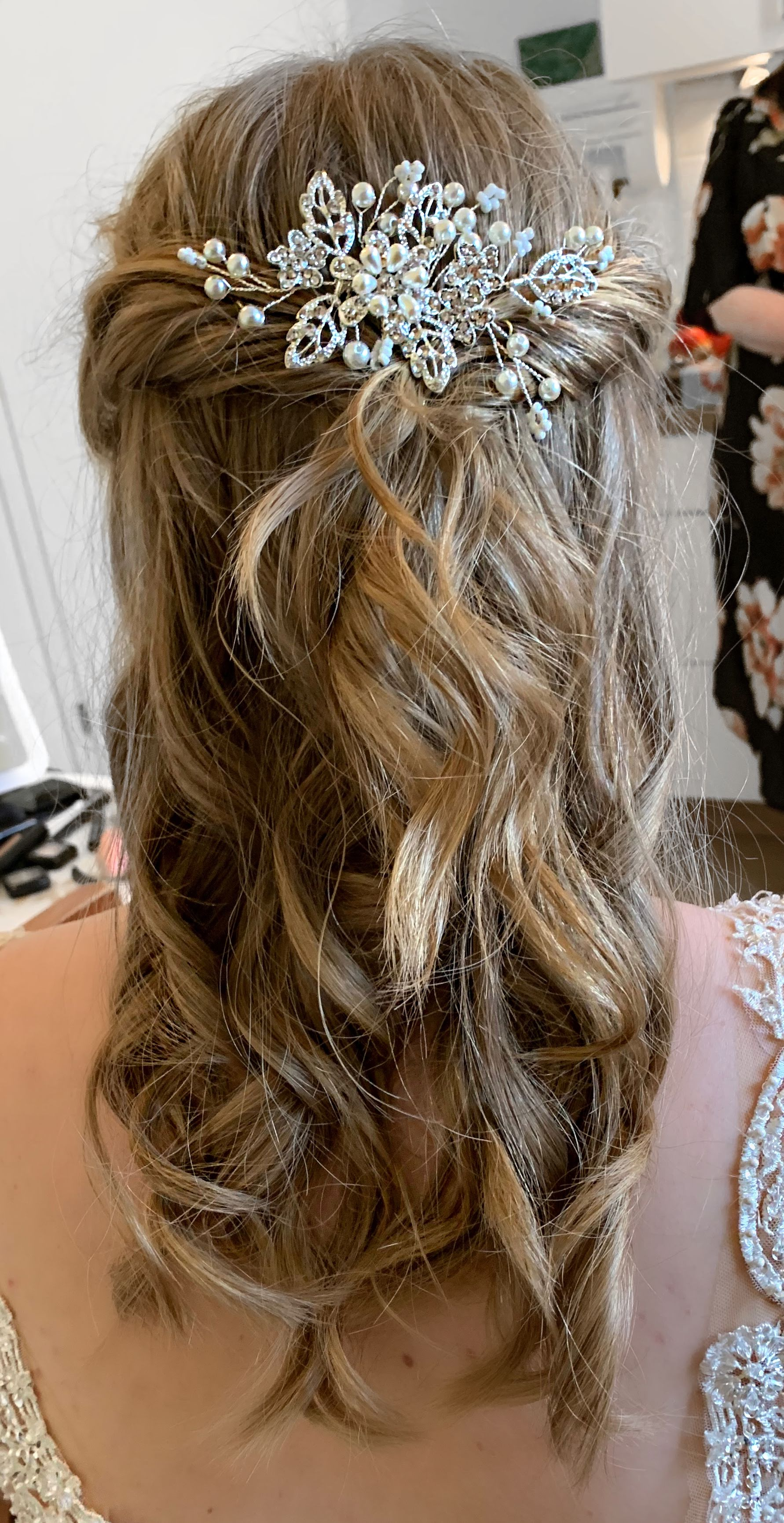 Hairstyle Braut