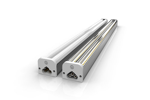 40 Watt T5 Double-Row LED Fixture - Frosted