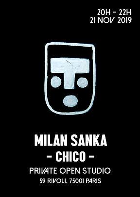 milan sanka exhibition chico 59 rivoli paris 2019
