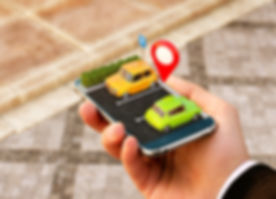 Smartphone application for online searching free parking place on the map.jpg GPS Navigation.jpg Par