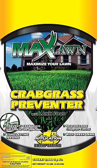 MAXLAWN Crabgrass Preventer w/ Lawn Food (22-0-4)