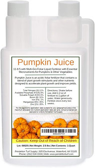 Pumpkin Juice 11-8-5 - Foliar Liquid Fertilizer