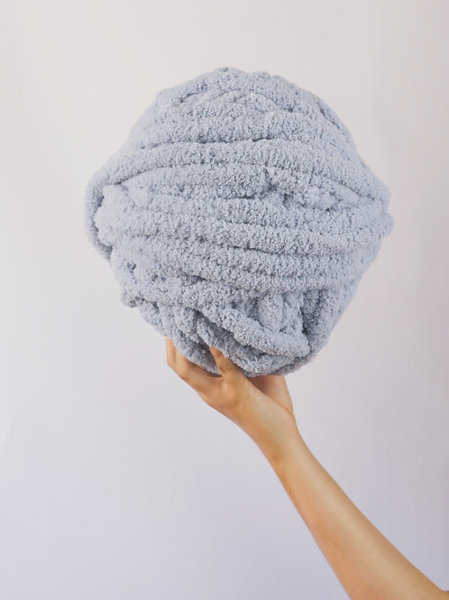 Dusty Blue Yarn Ball