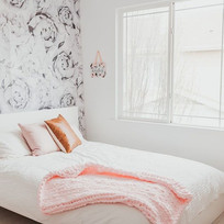 I love our Powder Pink blanket! Doesn't