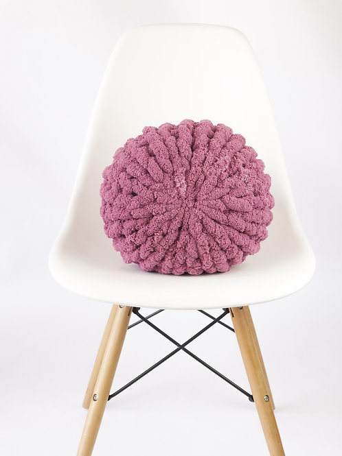 Pomegranate Poof Pillow
