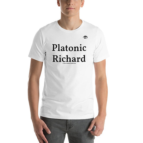 Platonic Richard - Short-Sleeve Unisex T-Shirt