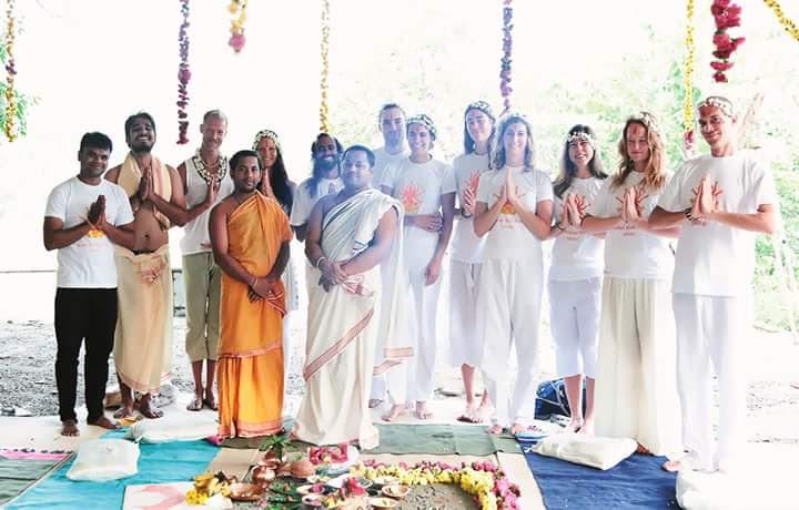 Yoga TTC Opening ceremony