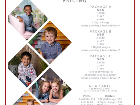 Preschool/Daycare Pricing