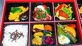 彩り松花堂弁当(6マス)