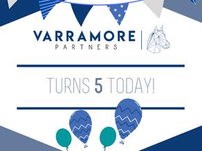 Varramore Partners celebrates 5 years!