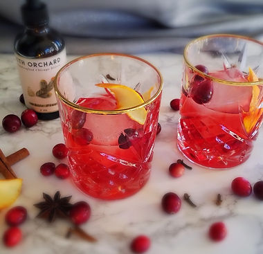 Gin Red Clver Cocktail